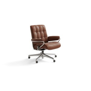 Stressless By EkornesStressless London Low Back Star Base Office