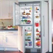 "24"" Built-in Full Refrigerator Premium, NoFrost ~ Stainless Steel Finish"