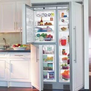 "Liebherr24"" Built-in Full Refrigerator Premium, NoFrost ~ Stainless Steel Finish"