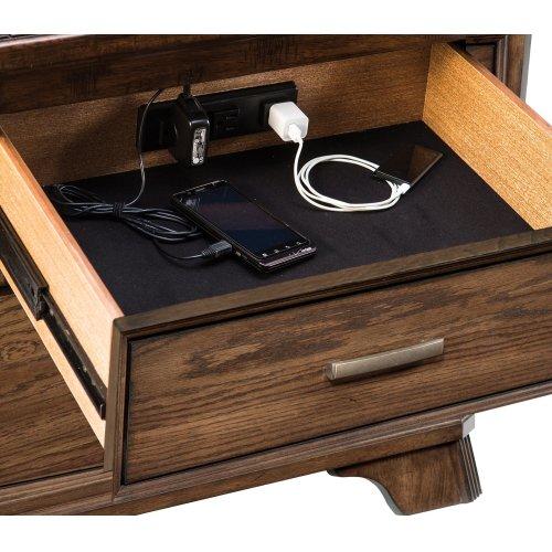 Telluride Two Drawer Nightstand