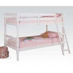 Homestead Wh Twin/twin Bunkbed