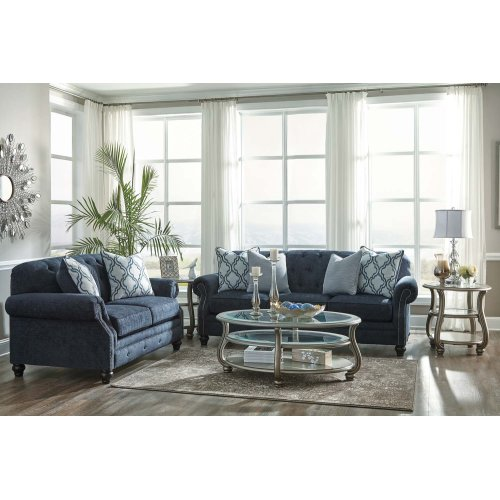 7130438  Sofa, Loveseat and Chair - Lavernia Navy