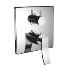 """7098cu-tm - 1/2"""" Thermostatic Trim With 3-way Diverter Trim (shared Function) in Polished Chrome"""
