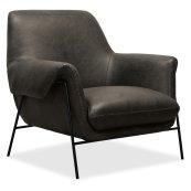 Living Room Ambroise Metal Frame Club Chair