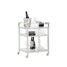 Margo Bar Cart - Silver