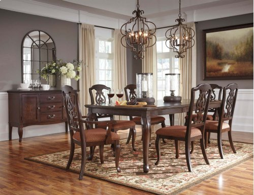 Gladdenville - Brown 9 Piece Dining Room Set