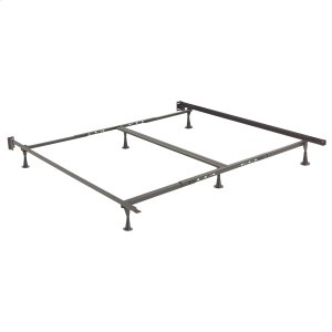 Leggett And PlattRestmore Adjustable Bed Frame 806G with Double Center Support and (6) Leg Glide Legs, Queen - King