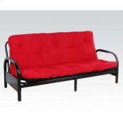 "8""futon Matress Red/blk Product Image"
