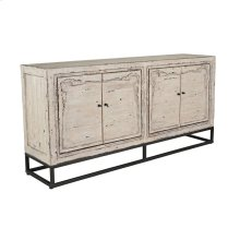 Lucia 4Dr Sideboard Antique White
