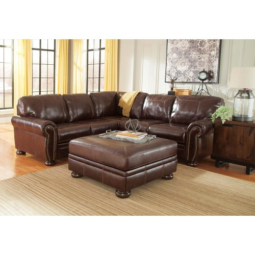Banner - Coffee 2 Piece Sectional