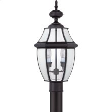 Newbury Outdoor Lantern in Mystic Black
