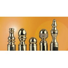 Decorative Hinge Finials in Finial Options