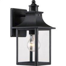 Chancellor Outdoor Lantern in Mystic Black