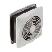 """8"""" 180 CFM Room To Room Fan, White Square Plastic Grille"""