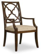Dining Room Skyline Fretback Arm Chair