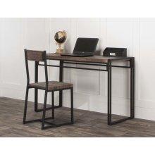 Dawn-20x74 3pc Blk Desk/chr
