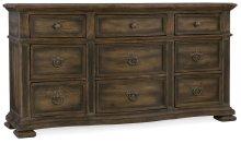 Bedroom Williamson Nine-Drawer Dresser