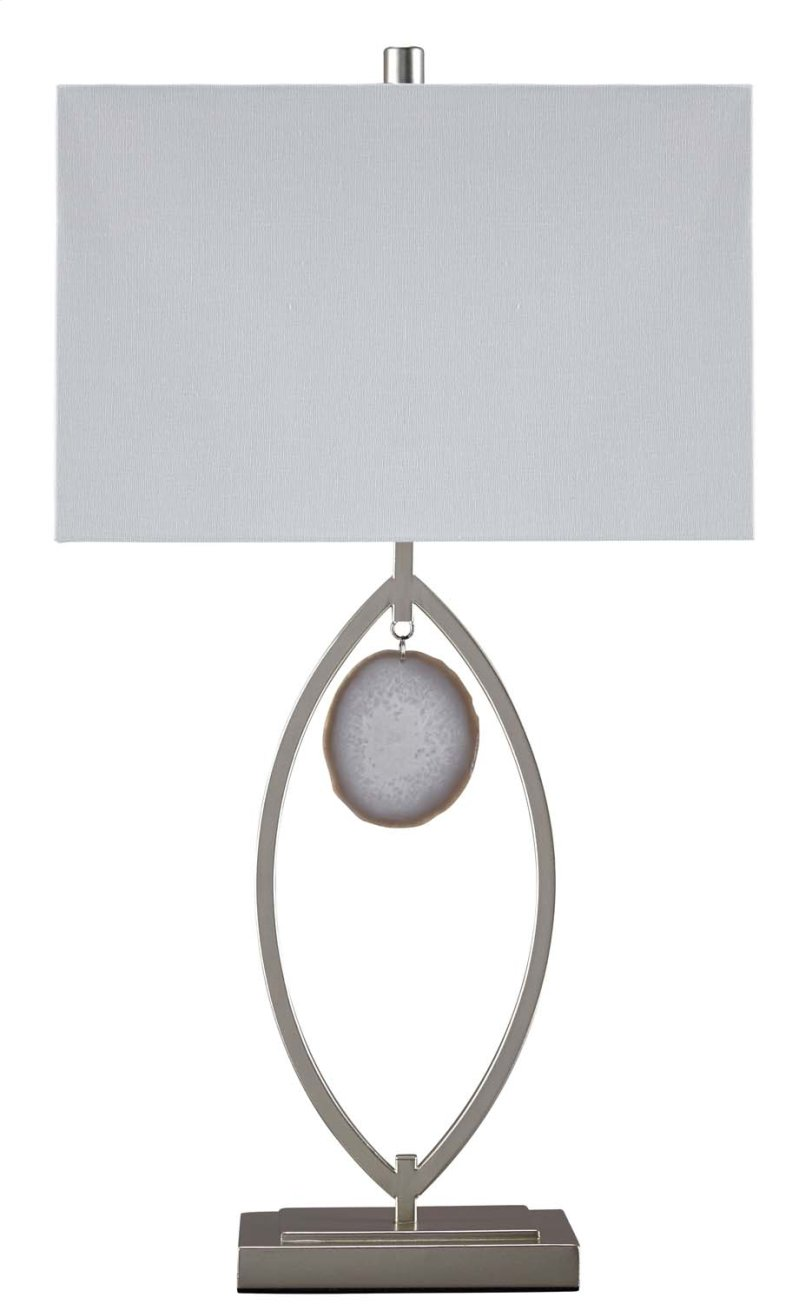 home silver inch metal crystals garden lamp glass high product table hanging mosaic