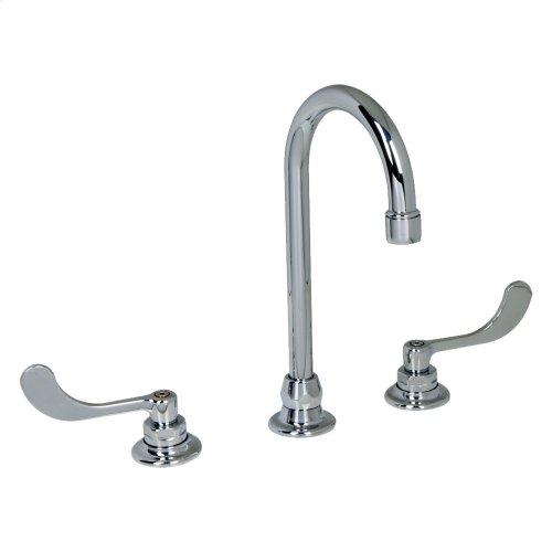 Monterrey Widespread Gooseneck Swivel Faucet  American Standard - Polished Chrome