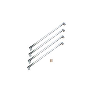 BERTAZZONIHandle Kit for 36 French Door refrigerator Stainless Steel