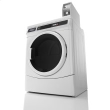Commercial Electric Super-Capacity Dryer, Coin Drop-Ready