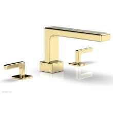 MIX Deck Tub Set - Lever Handles 290-41 - Polished Brass