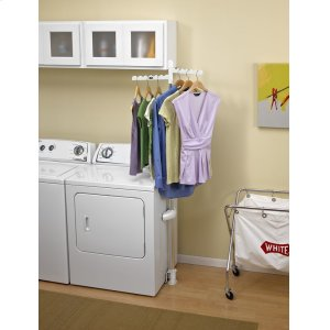 Laundry Appliance Hanger Rack -