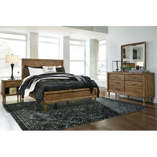 Broshtan - Light Brown 2 Piece Bedroom Set