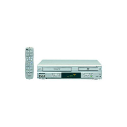 Double Feature DVD/VCR Combination Deck, Silver