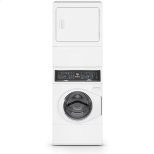 SPEED QUEENWhite Stacked Washer Dryer (Electric)