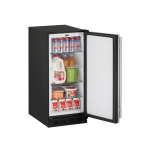 "U-Line15"" Refrigerator With Stainless Solid Finish (115 V/60 Hz Volts /60 Hz Hz)"