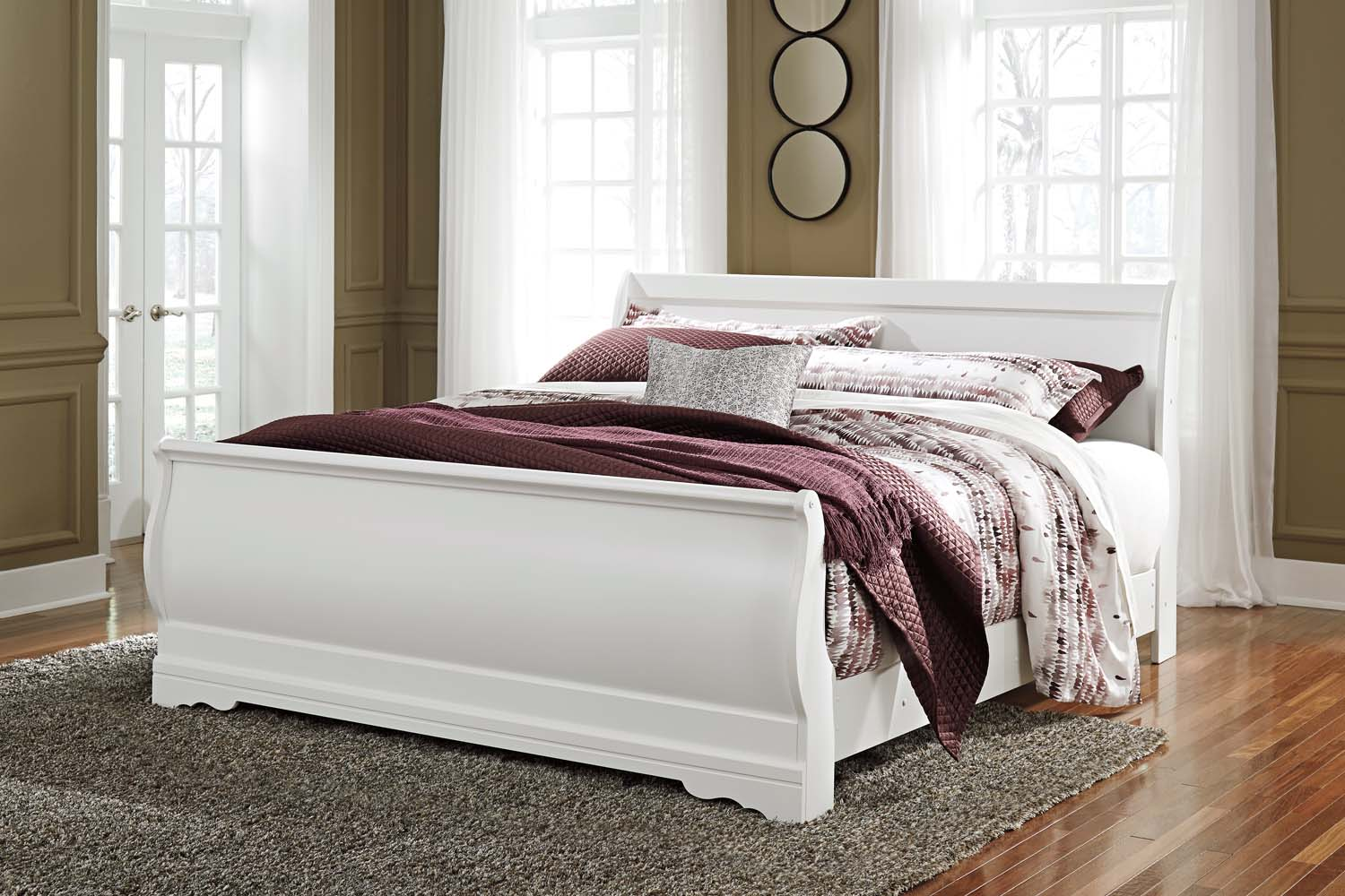 B12978Ashley Furniture King Sleigh Headboard - Westco Home Furnishings
