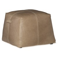 Living Room Birks Large Leather Ottoman Product Image
