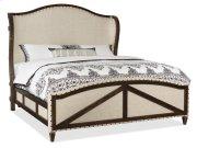 Bedroom Roslyn County Queen Deconstructed Uph Panel Bed Product Image