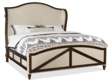 Bedroom Roslyn County Queen Deconstructed Uph Panel Bed