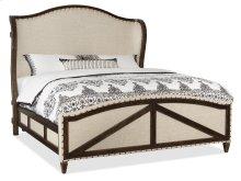 Bedroom Roslyn County Queen Deconstructed Uph Panel Bed