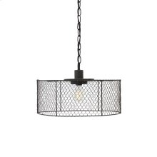 Metal Pendant Light (1/CN) Pendant Light - Black Collection Ashley at Aztec Distribution Center Houston Texas
