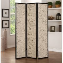 3-PANEL WOOD SCREEN