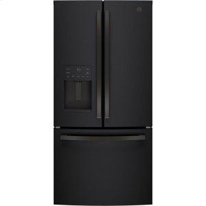 GE®ENERGY STAR® 17.5 Cu. Ft. Counter-Depth French-Door Refrigerator