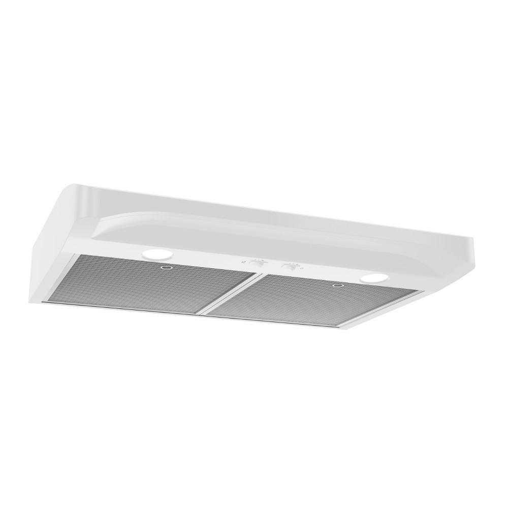 BroanAlta 1 30-Inch 250 Cfm White Range Hood With Light