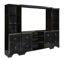 Amrothi - Black 4 Piece Entertainment Set