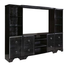 Amrothi - Black 4 Piece Entertainment Set Product Image