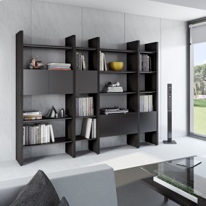 Bdi Furniture5404 Gb in Charcoal Stained Ash Black
