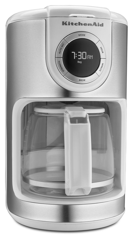 Kitchenaid12 Cup Coffee Maker White