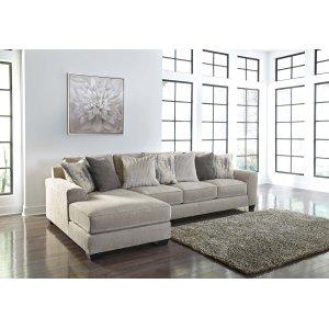 Ashley Furniture Ardsley - Pewter 2 Piece Sectional