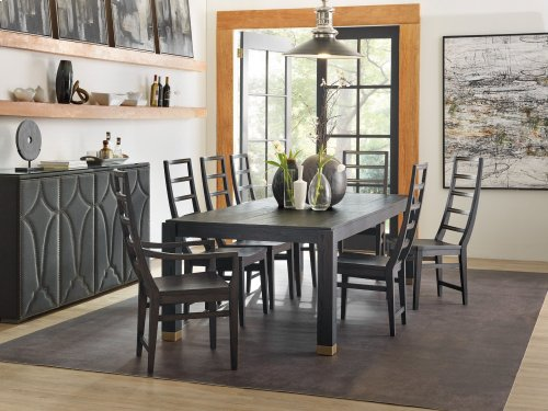 Dining Room Curata Ladderback Arm Chair
