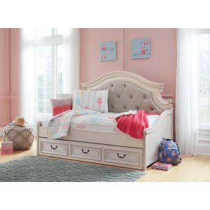 Ashley Furniture Realyn - Chipped White 2 Piece Bed Set (Twin)
