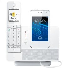 REFURBISHED Link2Cell Digital Phone with Smartphone Integration and Answering Machine 1 Handset