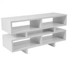 White Finish TV Stand and Media Console