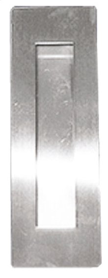 Rectangular Pocket/Cup Pull w/Rectangular Opening, US32D